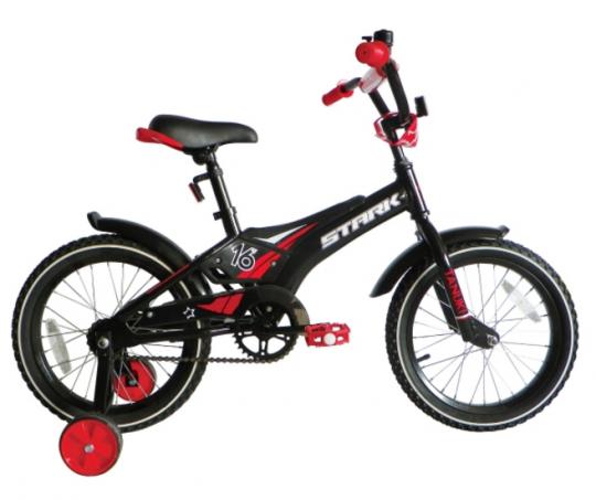 Детский велосипед Stark Tanuki 16 Boy (2017)