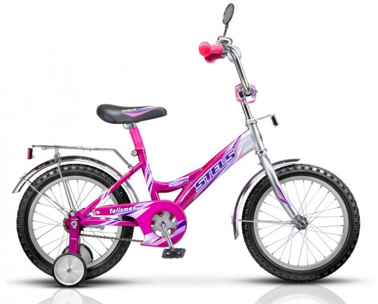 Детский велосипед Stels Talisman Chrome 16 (2014)