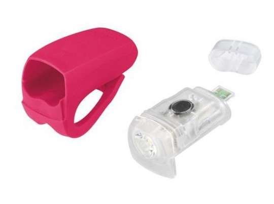 Велофонарь передний Knog Boomer USB White LED